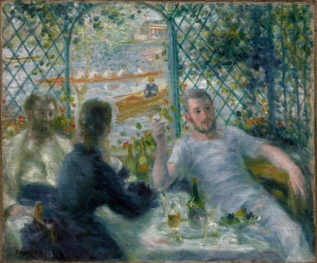 El almuerzo de los remeros (1875)